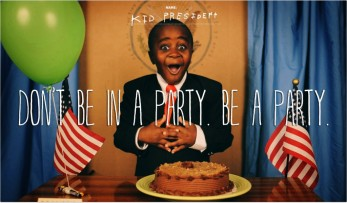Photo by www.kidpresident.com